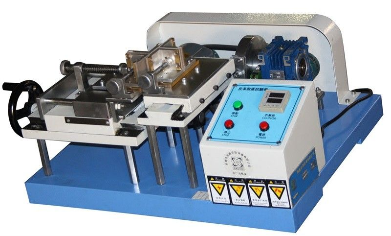 Leather Testing Equipment , Crumpling Resistance Crocking Test Machine for Rubber Coated Fabrics JIS K 6328