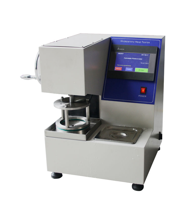 Textile Color Fastness To Washing Testing Machine , Leather Hydrostatic Pressure Tester