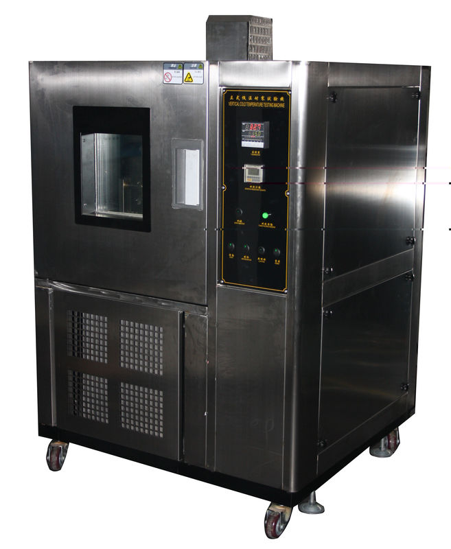 ASTM D 1790 Low Temperature Test Chamber Flexing Tester for Leather Cold Insulation Test